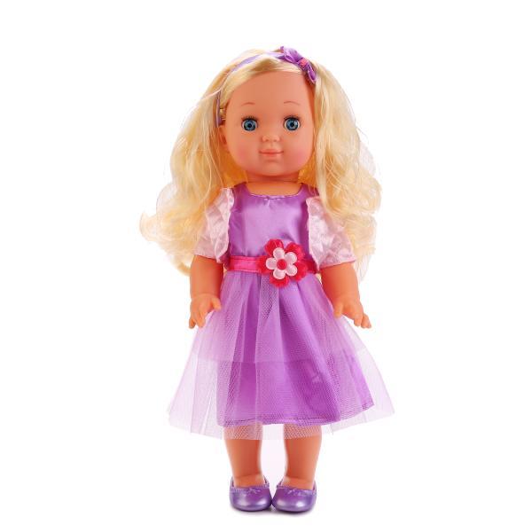 Кукла Полина, 35 см, озвученная, закрываются глазкиКуклы Карапуз<br>Кукла Полина, 35 см, озвученная, закрываются глазки<br>