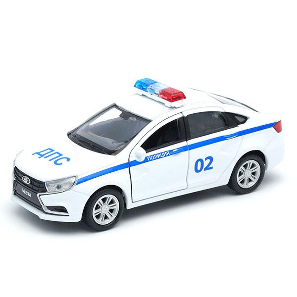 Купить Модель машины Lada Vesta полиция ДПС, 1:34-39, Welly