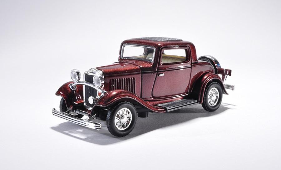 Купить Модель автомобиля 1932 года – Форд, 3-х дверный купе, 1/43, Yat Ming