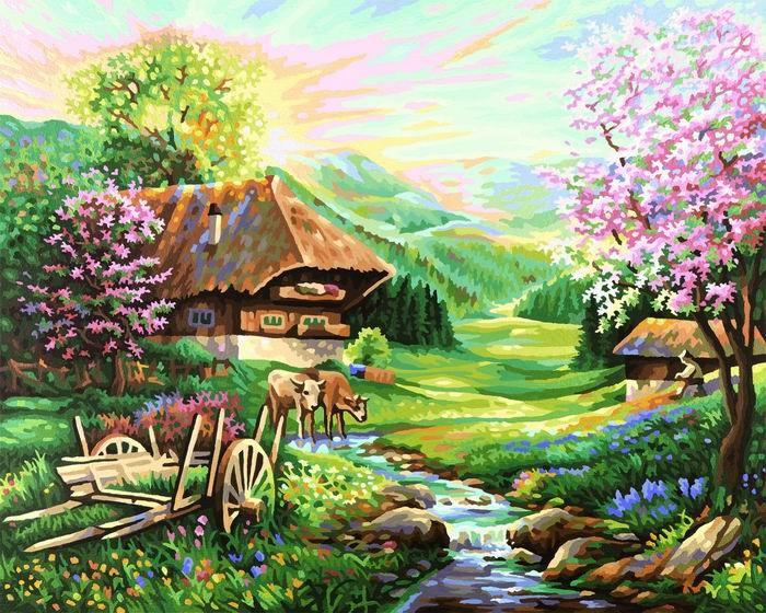 ВеснаРаскраски по номерам Schipper<br>Весна<br>