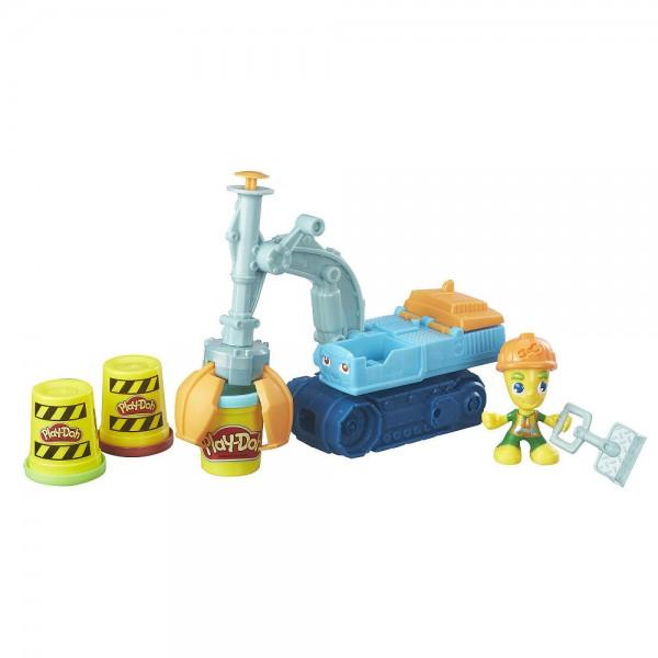 Набор для лепки из серии Play-Doh – Экскаватор - Пластилин Play-Doh, артикул: 153428