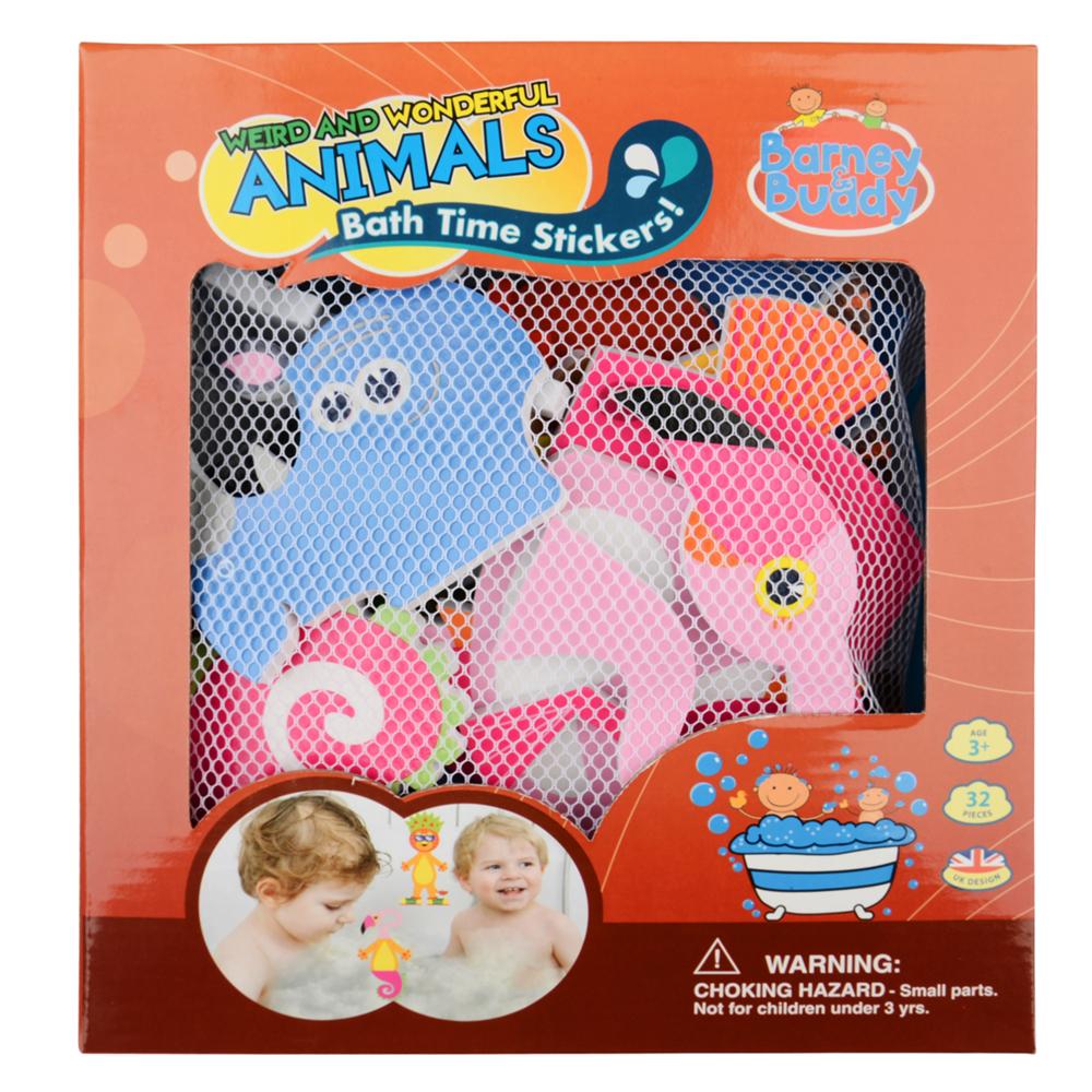 Стикеры для ванны - Забавные животныеЖивотные и окружающий мир<br>Стикеры для ванны - Забавные животные<br>