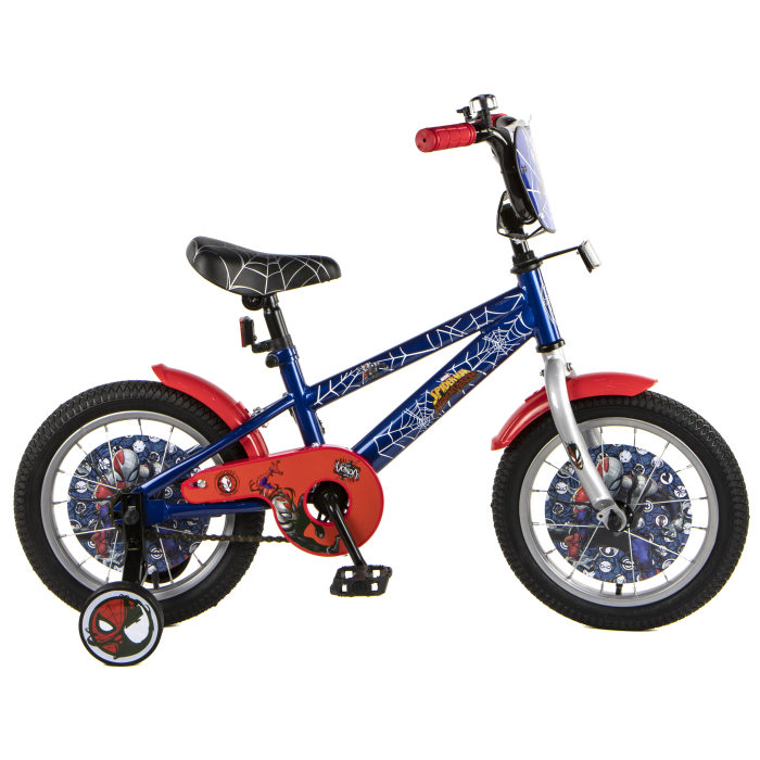 Купить Детский велосипед Marvel - Человек-Паук, колеса 14 дюйм, Navigator
