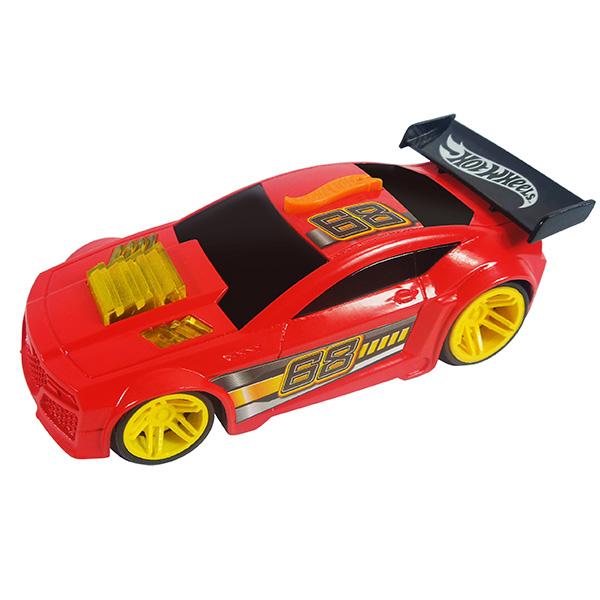 Машинка Hot Wheels со светом и звуком, красная, 13 смHot Wheels<br>Машинка Hot Wheels со светом и звуком, красная, 13 см<br>