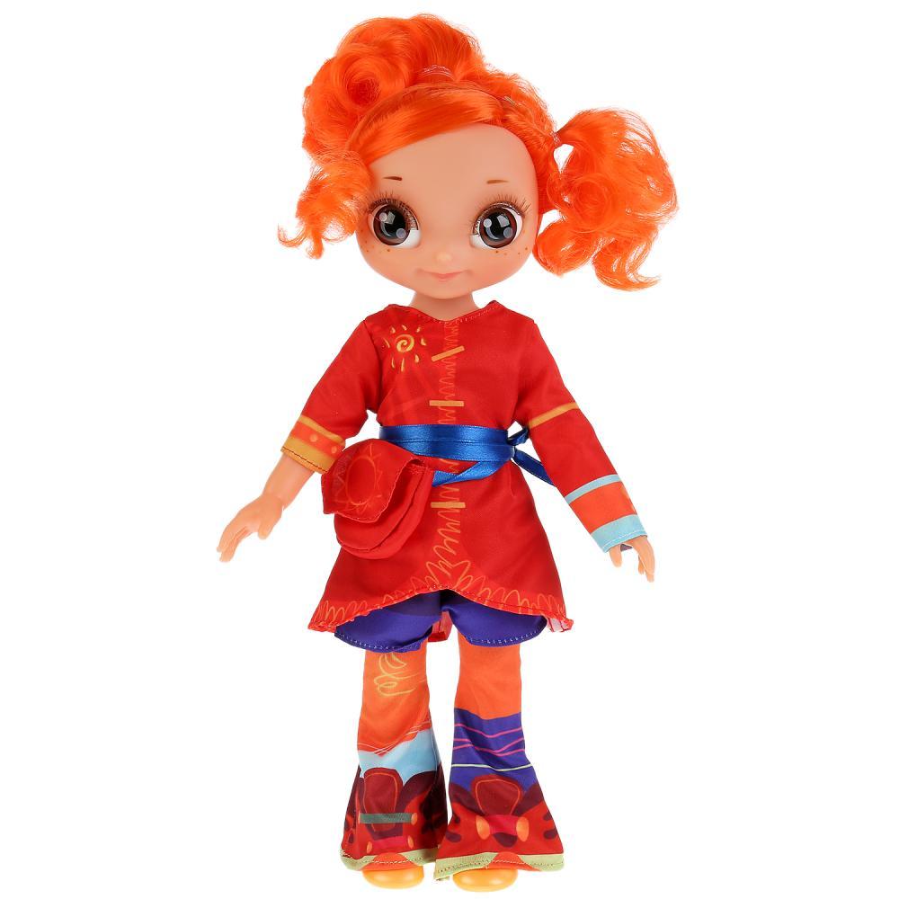 Купить Интерактивная кукла Сказочный патруль – Аленка, 32 см, кэжуал, 15 песен и фраз, Карапуз