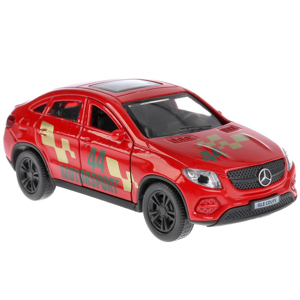 Металлическая инерционная машина – Mercedes-Benz GLE Coupe Спорт, 12 см, открывающиеся двери и багажник, Технопарк  - купить со скидкой