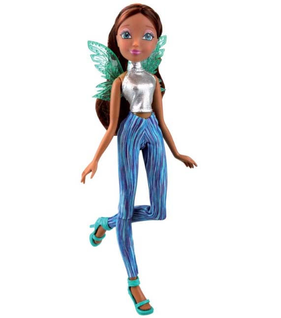 Кукла Winx Club из серии Рок-н-ролл – Лейла