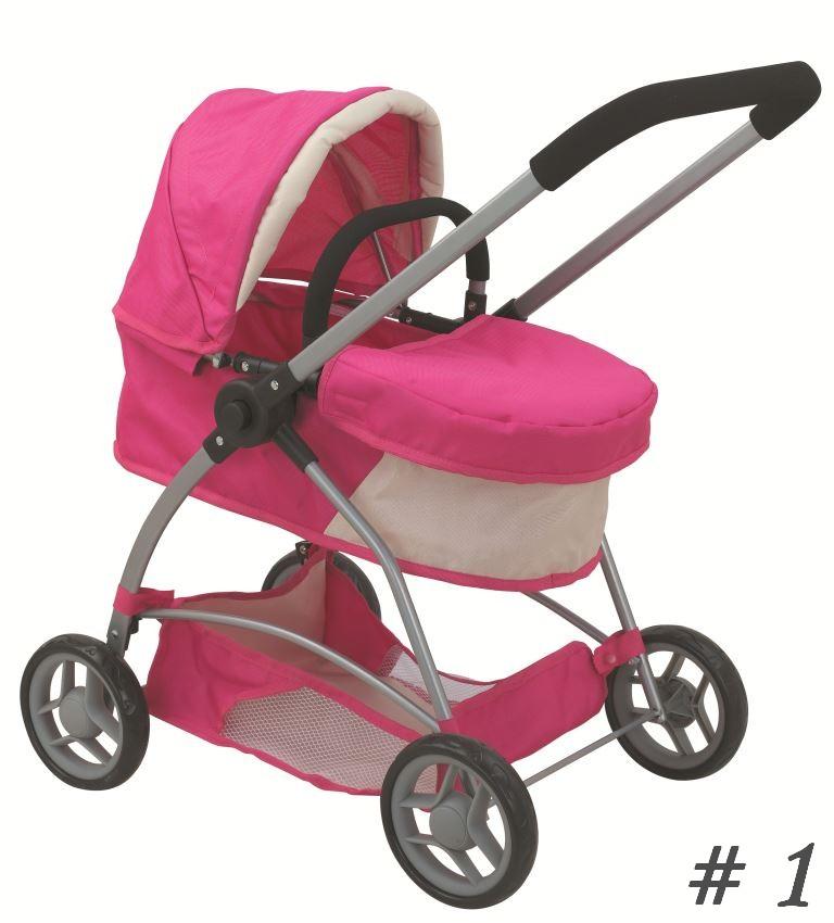 Детская коляска для куклы Melogo Buggy Boom, 8563Коляски для кукол<br>Размер: 65 х 38.5 х 67.5 см.<br>