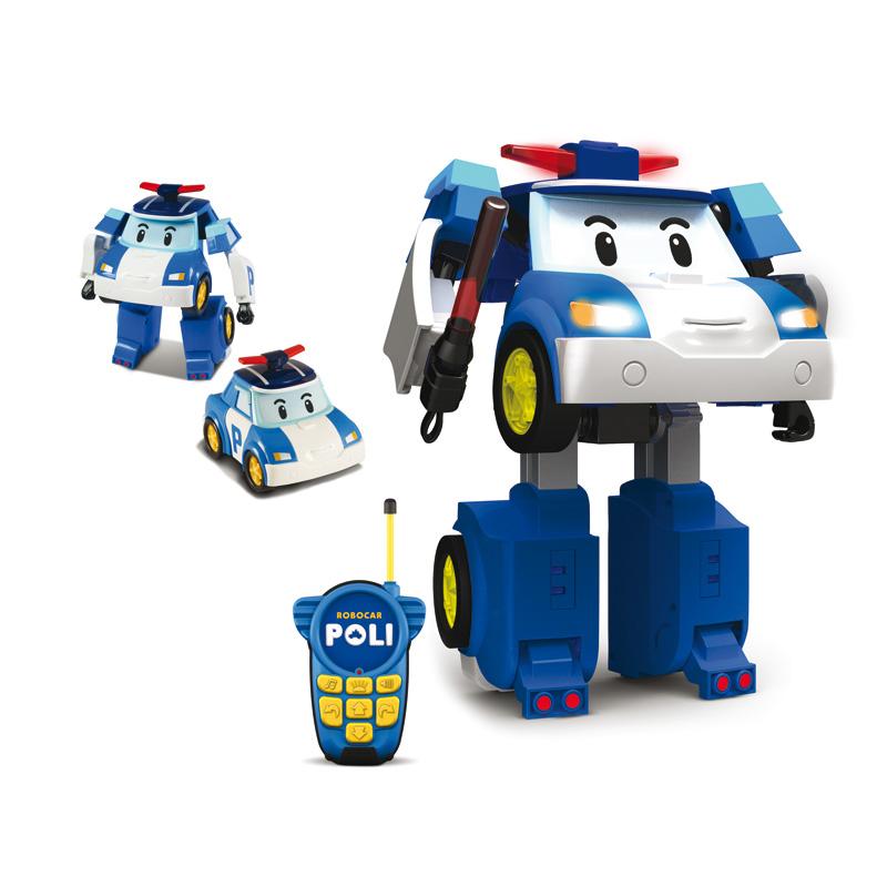 Robocar Poli на радиоуправлении - Robocar Poli. Робокар Поли и его друзья, артикул: 24258