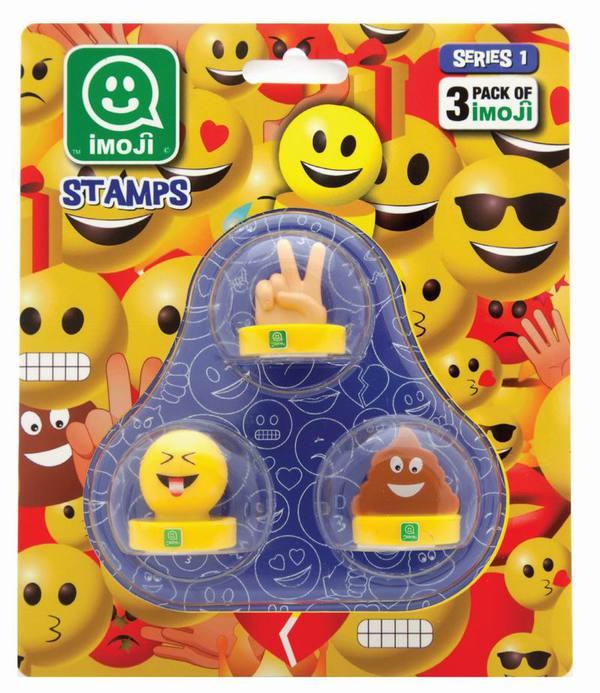 Печати Imoji, 3 шт. в наборе, серия 1, 36 видовШтампики<br>Печати Imoji, 3 шт. в наборе, серия 1, 36 видов<br>