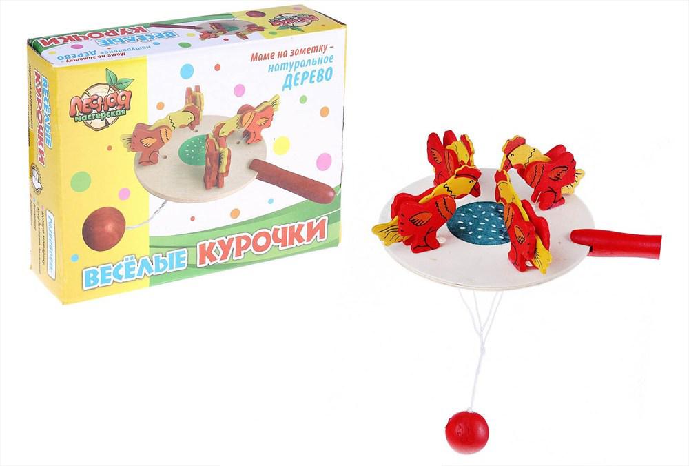 игрушка-курочка клюет зерно