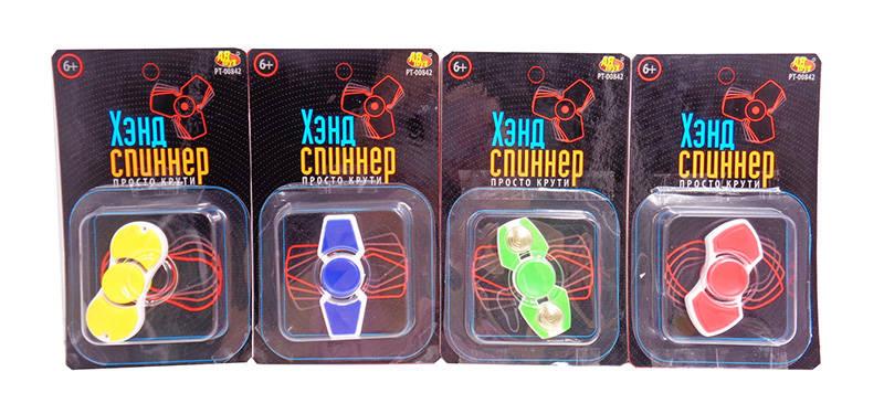 Спиннер прямоугольный пластиковый, 4 видаСпиннеры<br>Спиннер прямоугольный пластиковый, 4 вида<br>