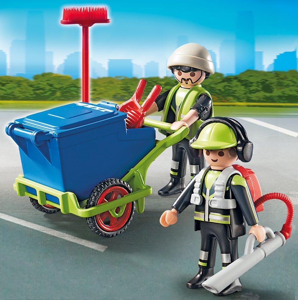 Игровой набор Городские службы  Команда по уборке улиц города - Конструкторы Playmobil, артикул: 159064