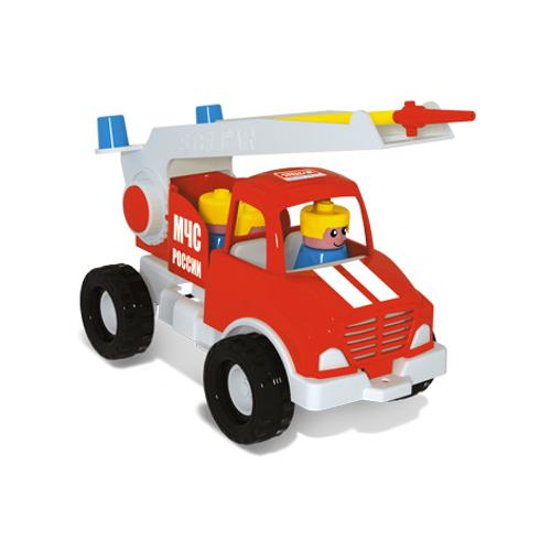 Пожарная машина с фигуркамиВсе для песочницы<br>Пожарная машина с фигурками<br>