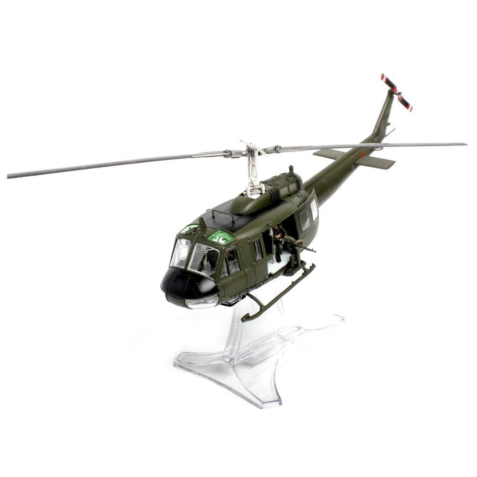 Коллекционная модель – американский вертолет UH-1D Huey, Вьетнам 1968, 1/48Военная техника<br>Коллекционная модель – американский вертолет UH-1D Huey, Вьетнам 1968, 1/48<br>
