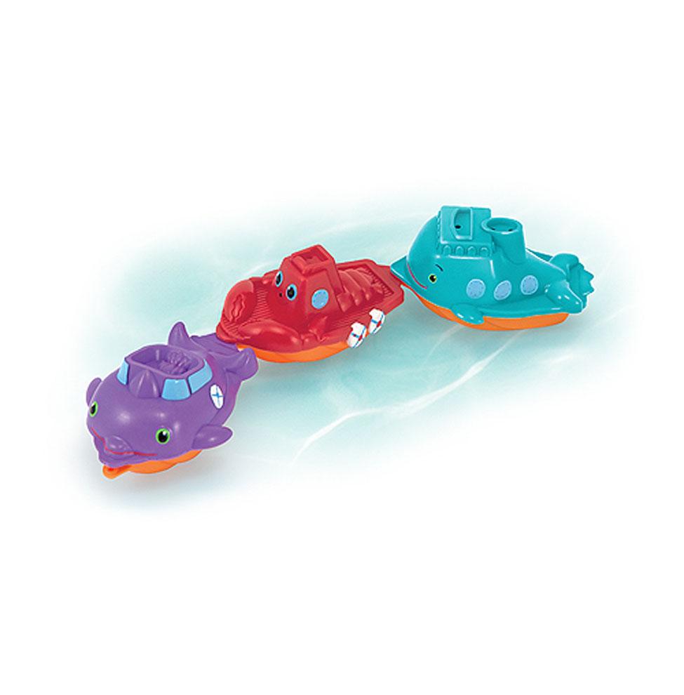 Sunny Patch - Дружные корабликиКорабли и катера в ванну<br>Sunny Patch - Дружные кораблики<br>