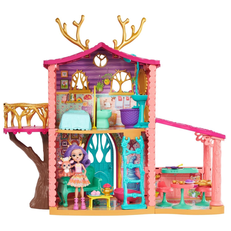 Купить Игровой набора Enchantimals - Домик Данессы Оленни, Mattel