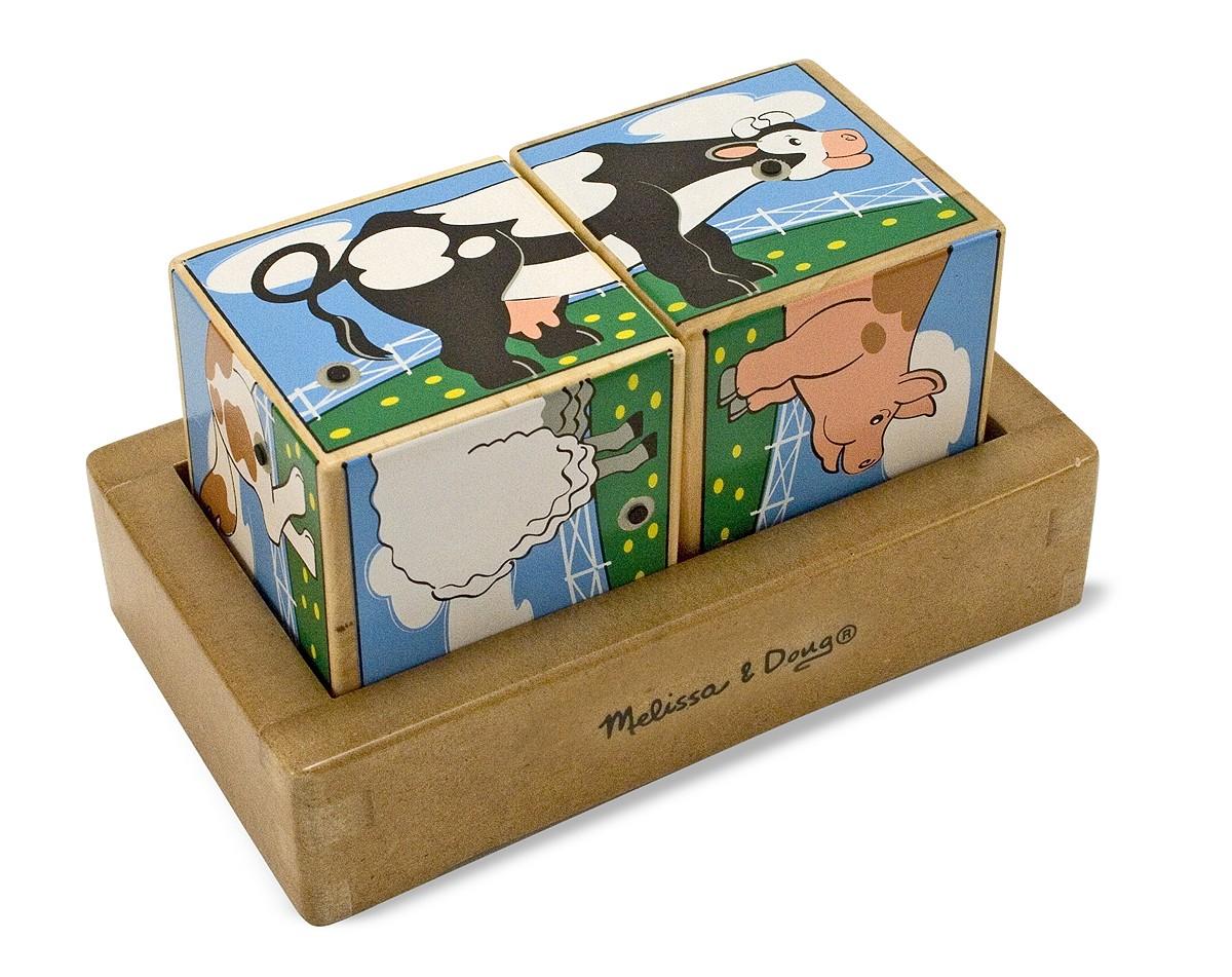 Пазл-кубики Ферма со звукомКубики<br>Пазл-кубики Ферма со звуком<br>