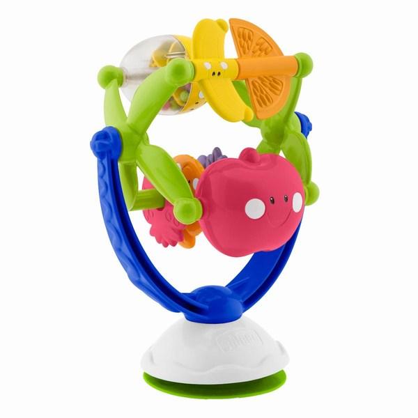 Игрушка для стульчика «Музыкальные фрукты»Развивающие Игрушки Chicco<br>Игрушка для стульчика «Музыкальные фрукты»<br>