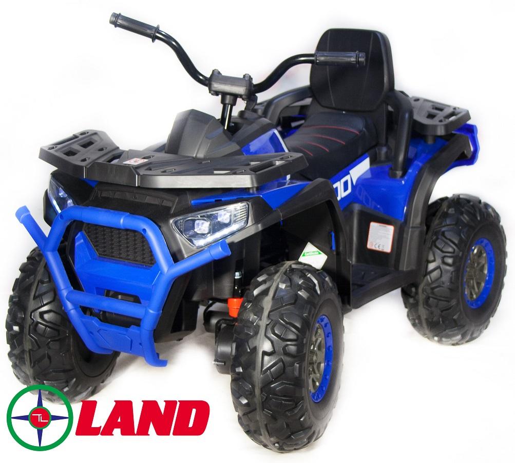 Купить Детский электроквадроцикл Qwatro 4х4 ToyLand XMX607 синего цвета