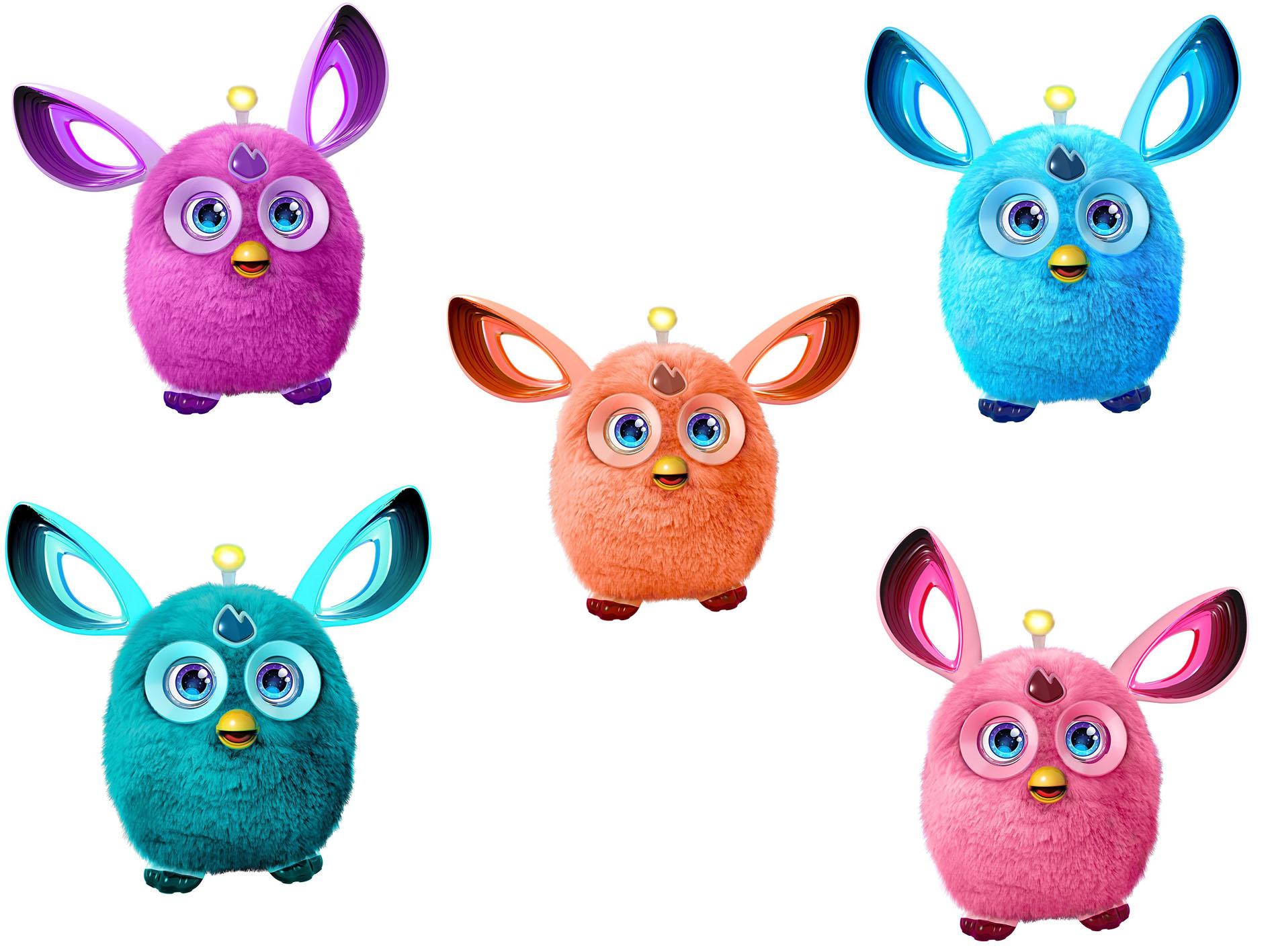 Интерактивная игрушка Ферби Коннект, серия Лед