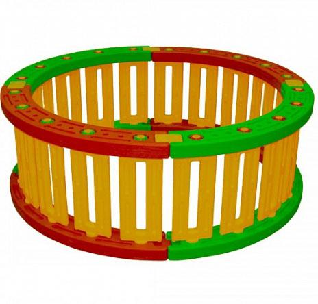 Купить Пластиковый круглый манеж для шаров, 51 см, King Kids
