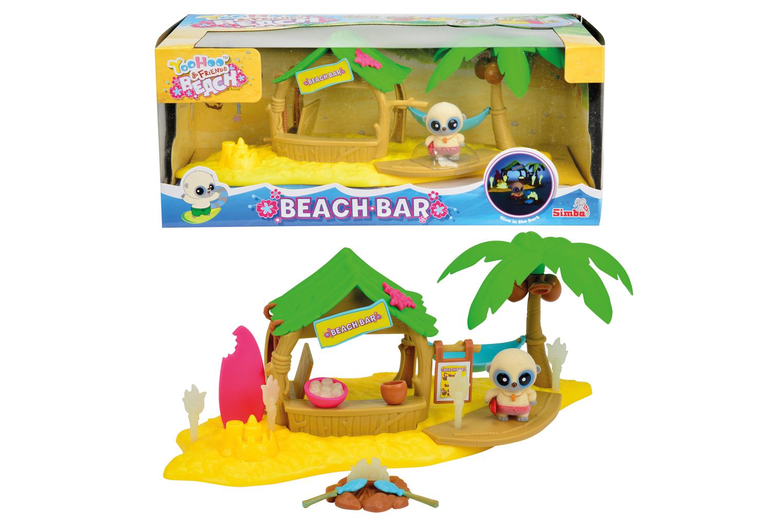 Игровой набор YooHoo&amp;Friends Beach с аксессуарамиYooHoo&amp;Friends<br>Игровой набор YooHoo&amp;Friends Beach с аксессуарами<br>