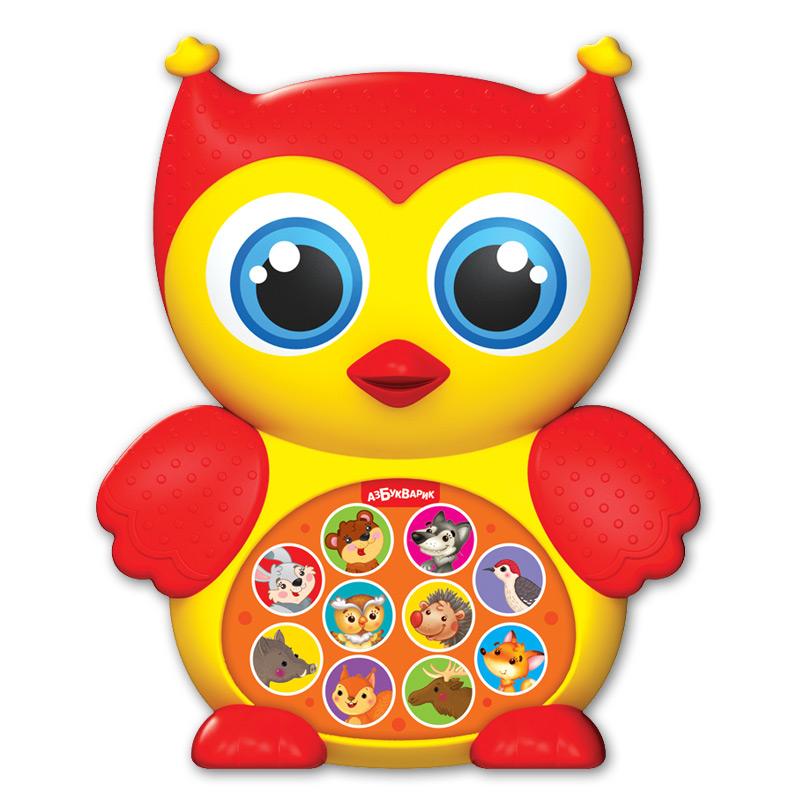 Купить Игрушка музыкальная из серии Зверята-малышата - Совушка, Азбукварик