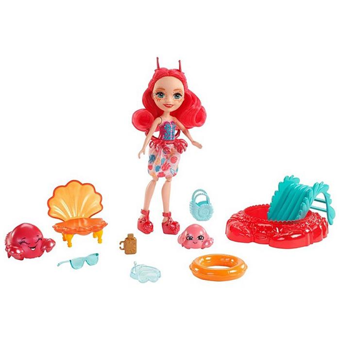 Купить Кукла Энчантималс - Морские подружки - Камео с питомцами, 15 см, Mattel