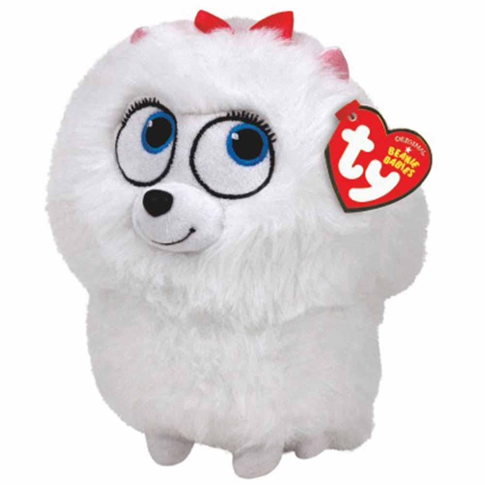 TY Мягкая игрушка - Тайная жизнь домашних животных - шпиц Гиджет