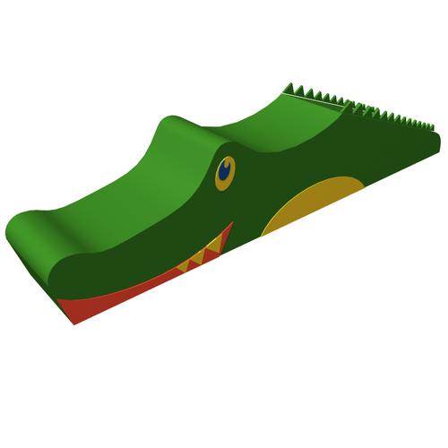 Мягкая контурная игрушка - Крокодил