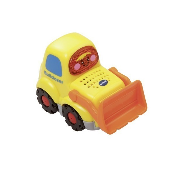 Бульдозер - Бип-Бип со звуковыми эффектамиРазвивающие игрушки Vtech<br>Бульдозер - Бип-Бип со звуковыми эффектами<br>