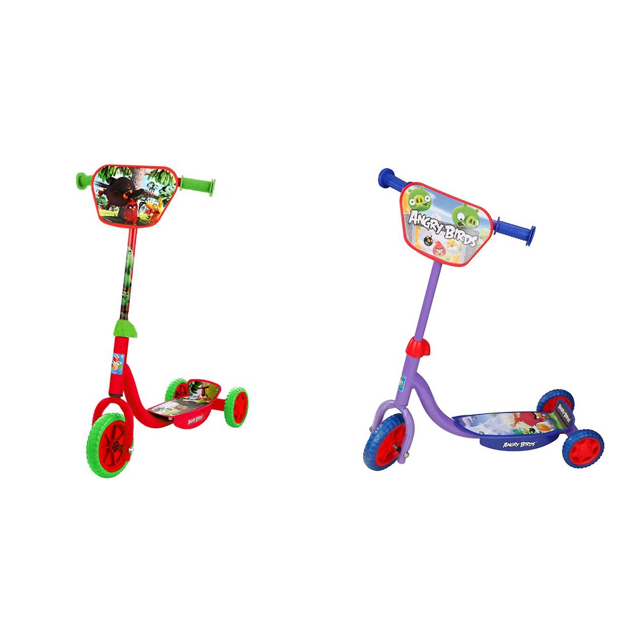 Купить Самокат 3х-колёсный из серии Angry Birds, колеса EVA 150 и 100 мм., 1TOY