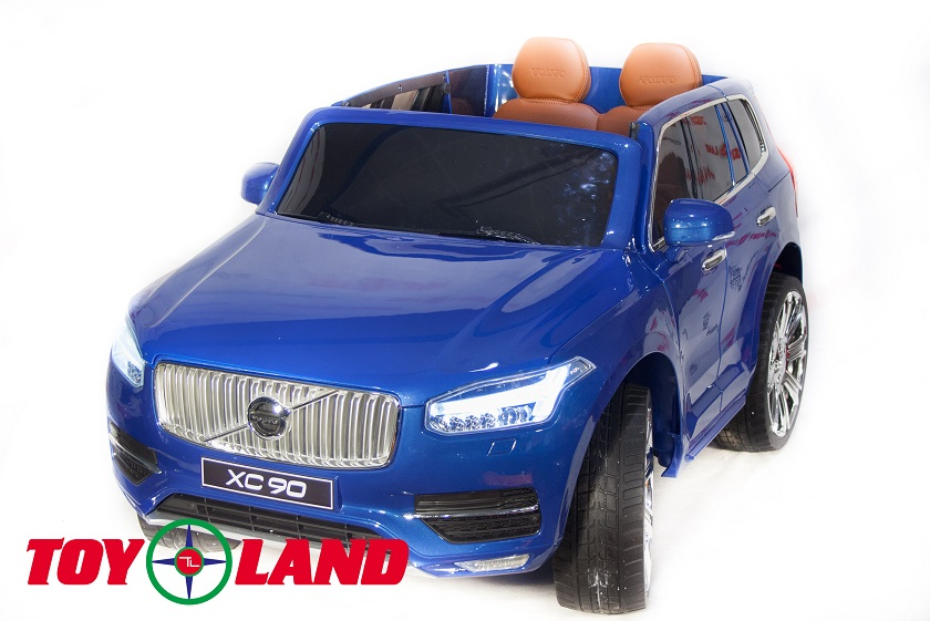 Электромобиль Джип Volvo XC 90, синий