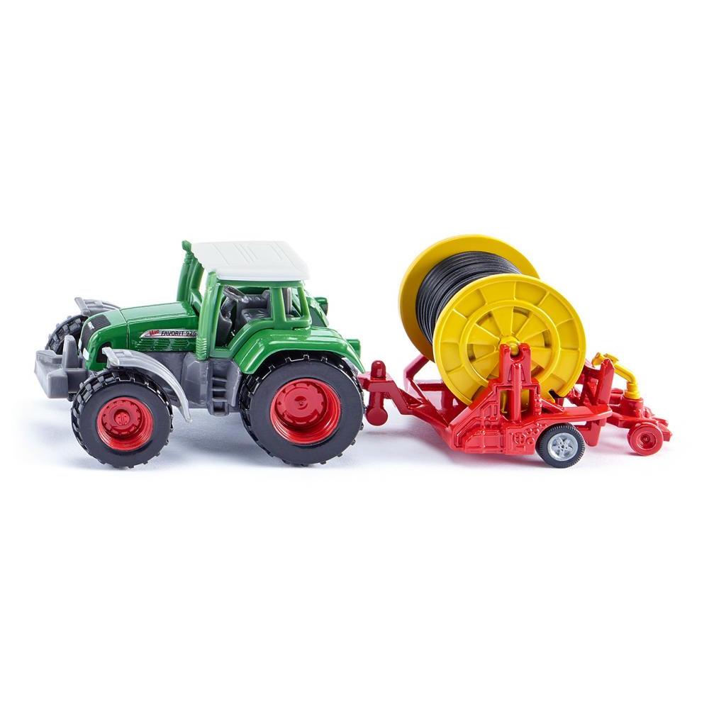 Купить Игрушечная модель - Трактор с поливочной бобиной, Siku