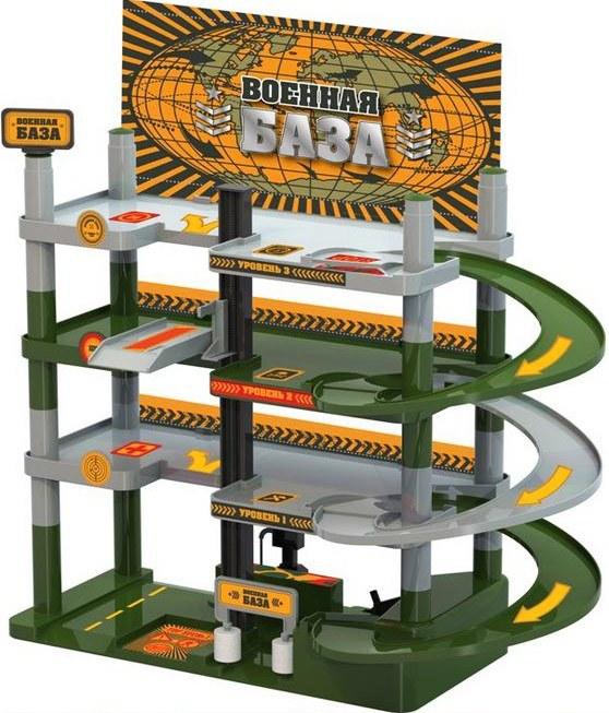 Гараж - Военная база, 4 уровняДетские парковки и гаражи<br>Гараж - Военная база, 4 уровня<br>