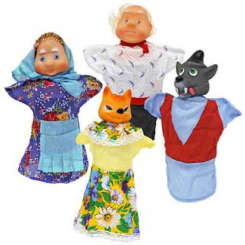 Кукольный театр «Волк и Лиса» - Детский кукольный театр , артикул: 121795