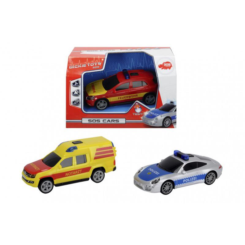 Купить Специальное авто, свет, звук, фрикционное, 3 вида, 15 см., Dickie Toys