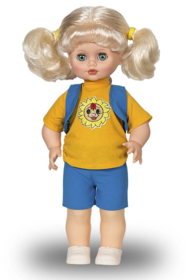 Озвученная кукла Инна 4, высотой 43 смРусские куклы фабрики Весна<br>Озвученная кукла Инна 4, высотой 43 см<br>
