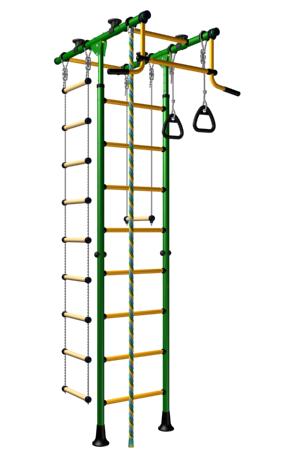 Детский спортивный комплекс Romana Комета 1, желто-зеленый, ДСКМ-2-8.06.Т.490.01-08