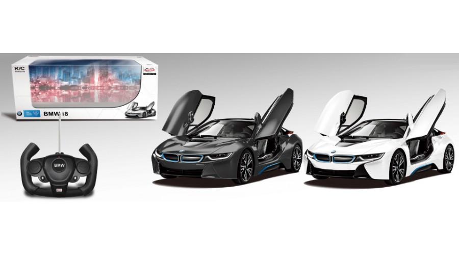 Радиоуправляемая машина BMW i8 с открывающимися дверьми, Rastar  - купить со скидкой