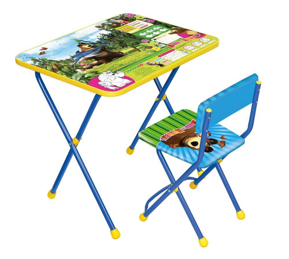 Набор мебели Маша и медведь  Ловись рыбка, синий - Парты, артикул: 159344