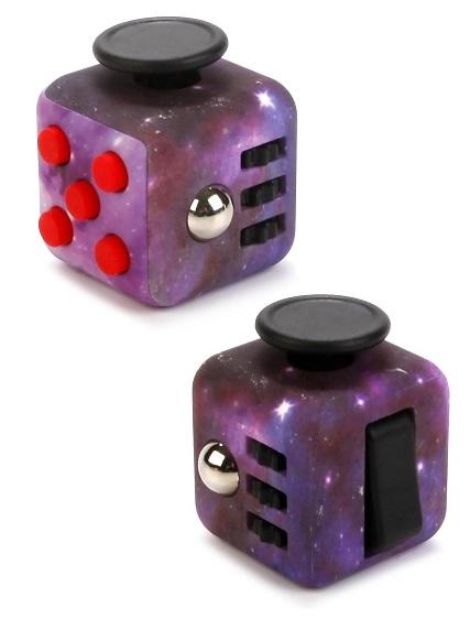 Купить со скидкой Игрушка антистресс Fidget Cube Space Космос