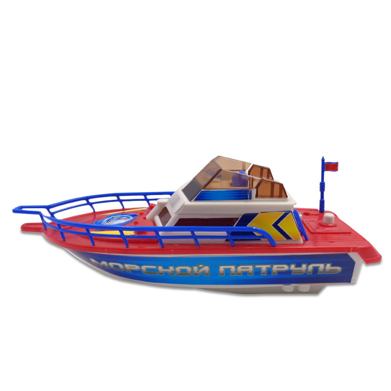 Катер Морской патруль, электромеханическийКорабли и катера в ванну<br>Катер Морской патруль, электромеханический<br>