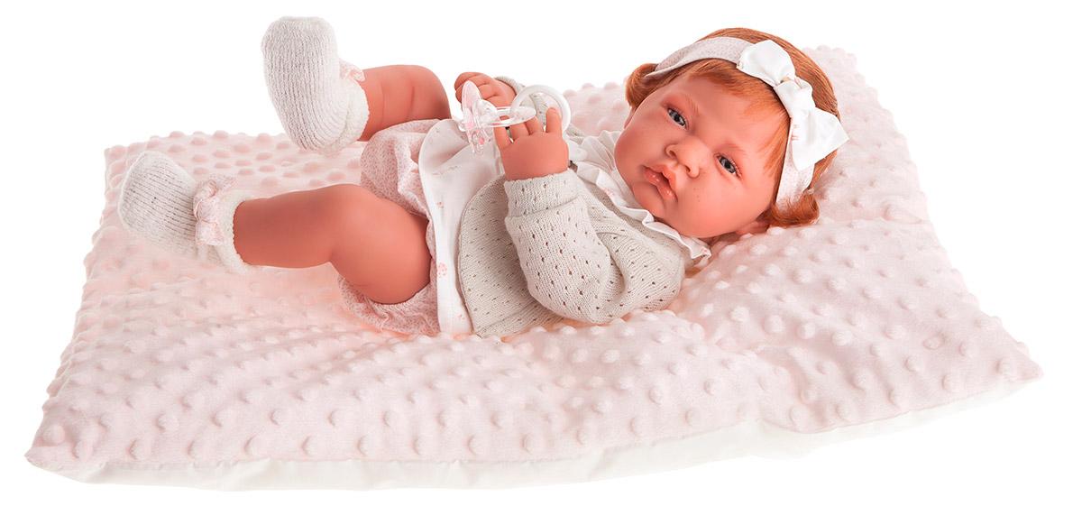 Купить Кукла-младенец Розарио в розовом, 42 см., Antonio Juan Munecas