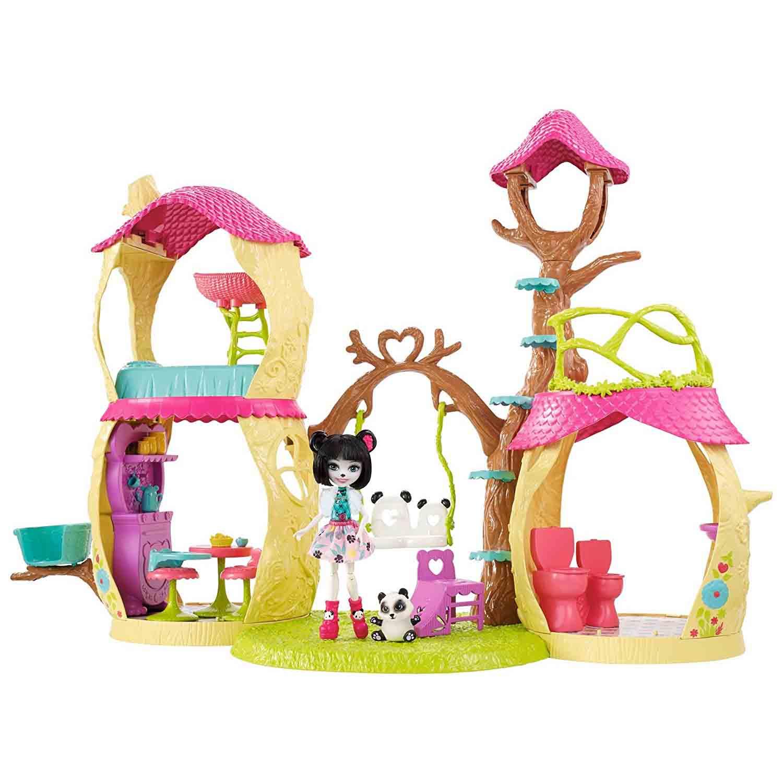 Купить Игровой набор Enchantimals с питомцем - Лесной замок, Mattel