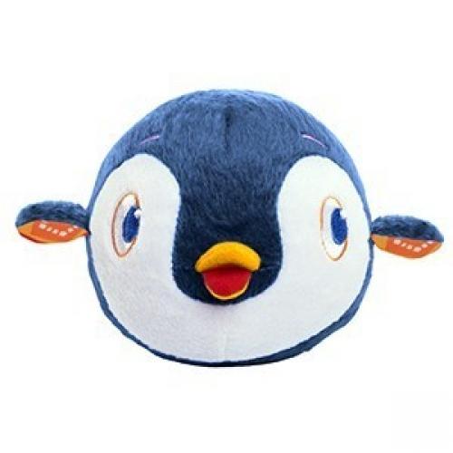 Погремушка Плюшевый хохотунчик ПингвинДетские погремушки и подвесные игрушки на кроватку<br>Погремушка плюшевый «Хохотунчик» – это веселый, симпатичный зверек в виде шарика, который издает забавные звуки, мелодии, стоит только хлопнуть по нему.<br>Хорошая игрушка, стимулирующая двигательную активность малыша.<br>
