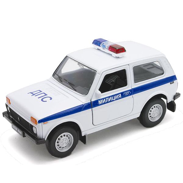 Модель машины Lada 4x4 Милиция ДПСПолицейские машины<br>Модель машины Lada 4x4 Милиция ДПС<br>