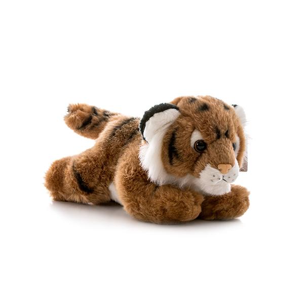 Игрушка мягкая – Тигр коричневый, 28 см.Дикие животные<br>Игрушка мягкая – Тигр коричневый, 28 см.<br>