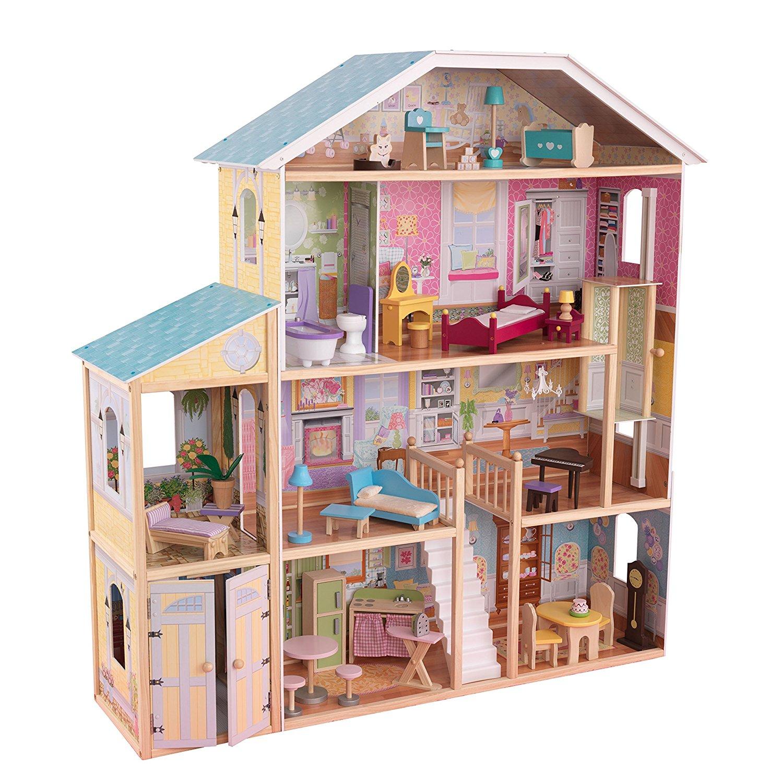 Большой кукольный дом для Барби Majestic Mansion - Великолепный особняк с мебельюКукольные домики<br>Большой кукольный дом для Барби Majestic Mansion - Великолепный особняк с мебелью<br>